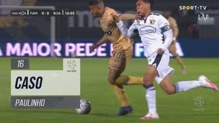 Boavista FC, Caso, Paulinho aos 16'