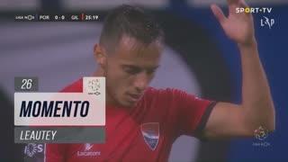 Gil Vicente FC, Jogada, Leautey aos 26'