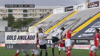 SC Farense, Golo Anulado, Licá aos 35'