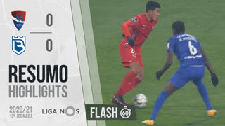 I Liga (12ªJ): Resumo Flash Gil Vicente FC 0-0 Belenenses SAD