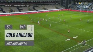 SC Braga, Golo Anulado, Ricardo Horta aos 58'