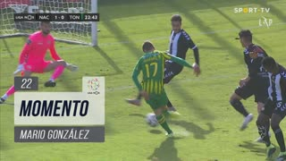 CD Tondela, Jogada, Mario González aos 22'