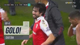 GOLO! SC Braga, Gaitán aos 90'+4', SC Braga 2-2 FC Porto