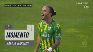 CD Tondela, Jogada, Rafael Barbosa aos 6'