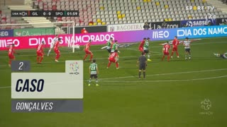 Gil Vicente FC, Caso, Gonçalves aos 2'