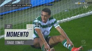 Sporting CP, Jogada, Tiago Tomás aos 22'