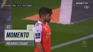 SC Braga, Jogada, Ricardo Esgaio aos 63'