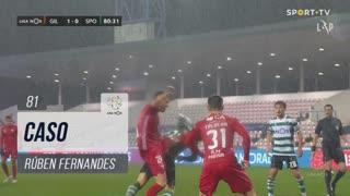 Gil Vicente FC, Caso, Rúben Fernandes aos 81'