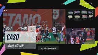 SC Braga, Caso, João Novais aos 90'+7'
