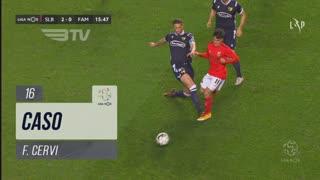 SL Benfica, Caso, F. Cervi aos 16'