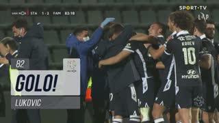 GOLO! FC Famalicão, Lukovic aos 82', Santa Clara 1-2 FC Famalicão