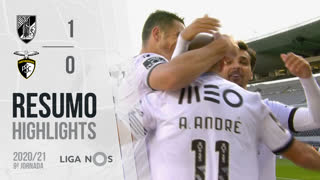 Liga NOS (9ªJ): Resumo Vitória SC 1-0 Portimonense