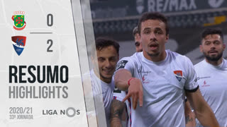 Liga NOS (33ªJ): Resumo FC P.Ferreira 0-2 Gil Vicente FC