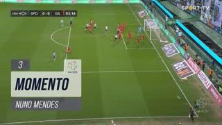 Sporting CP, Jogada, Nuno Mendes aos 3'