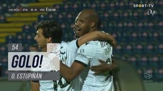 GOLO! Vitória SC, O. Estupiñán aos 54', Santa Clara 0-4 Vitória SC