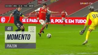 SC Braga, Jogada, Piazon aos 48'