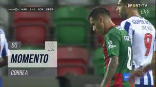 Marítimo M., Jogada, Correa aos 60'