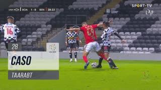 SL Benfica, Caso, Taarabt aos 28'