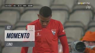 Gil Vicente FC, Jogada, Lino aos 62'