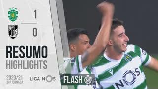 Liga NOS (24ªJ): Resumo Flash Sporting CP 1-0 Vitória SC