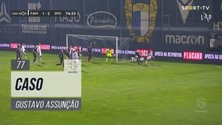 FC Famalicão, Caso, Gustavo Assunção aos 77'