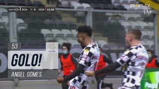 GOLO! Boavista FC, Angel Gomes aos 53', Boavista FC 1-0 Moreirense FC