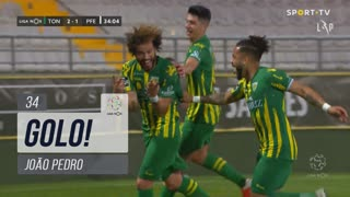 GOLO! CD Tondela, João Pedro aos 34', CD Tondela 2-1 FC P.Ferreira