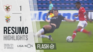 Liga NOS (12ªJ): Resumo Flash Santa Clara 1-1 SL Benfica