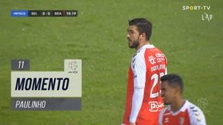 SC Braga, Jogada, Paulinho aos 11'
