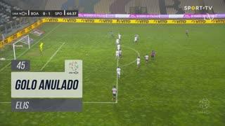 Boavista FC, Golo Anulado, Elis aos 45'