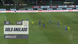 FC P.Ferreira, Golo Anulado, Maracás aos 38'
