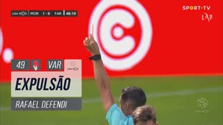 SC Farense, Expulsão, Rafael Defendi aos 49'