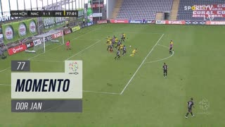 FC P.Ferreira, Jogada, Dor Jan aos 77'