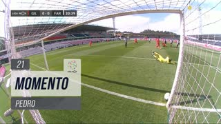 Gil Vicente FC, Jogada, Pedro aos 21'