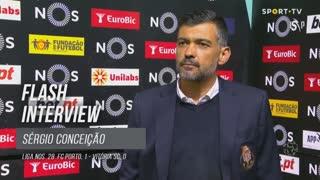 """Sérgio Conceição: """"Quem está sentado numa cadeira consegue ver que é penálti"""""""