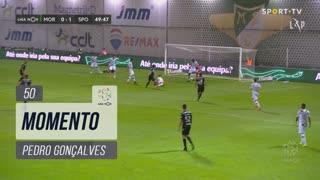 Sporting CP, Jogada, Pedro Gonçalves aos 50'