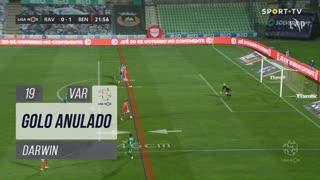 SL Benfica, Golo Anulado, Darwin aos 19'