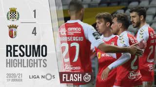 Liga NOS (11ªJ): Resumo Flash Boavista FC 1-4 SC Braga