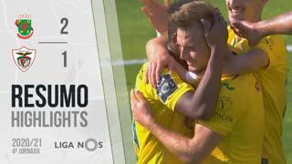 I Liga (4ªJ): Resumo FC P.Ferreira 2-1 Santa Clara