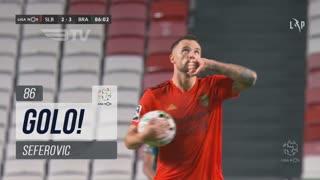 GOLO! SL Benfica, Seferovic aos 86', SL Benfica 2-3 SC Braga