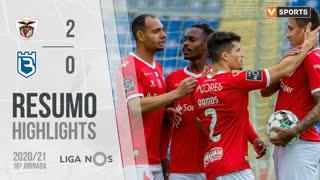 I Liga (16ªJ): Resumo Santa Clara 2-0 Belenenses SAD