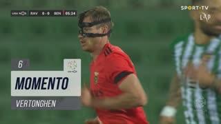 SL Benfica, Jogada, Vertonghen aos 6'