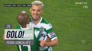 GOLO! Sporting CP, Pedro Gonçalves aos 25', Sporting CP 1-0 FC Famalicão