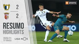 Liga NOS (23ªJ): Resumo FC Famalicão 2-2 SC Braga