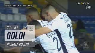 GOLO! FC Famalicão, Jhonata Robert aos 20', FC Famalicão 1-1 FC Porto