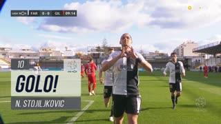 GOLO! SC Farense, N. Stojiljkovic aos 10', SC Farense 1-0 Gil Vicente FC