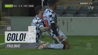 GOLO! Boavista FC, Paulinho aos 65', Boavista FC 2-0 FC Famalicão