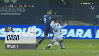 FC Famalicão, Caso, Riccieli aos 55'