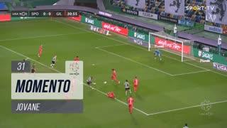 Sporting CP, Jogada, Jovane aos 31'