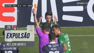 Rio Ave FC, Expulsão, Nélson Monte aos 29'